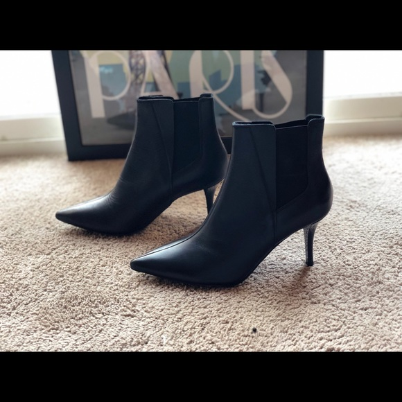 Zara Shoes - Zara Leather Booties